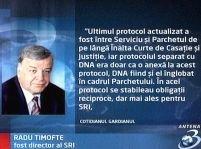 Radu Timofte: SRI a transmis informaţii către DNA