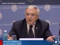 Isărescu avertizează că mărirea salariilor poate provoca un dezastru economic