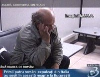 Cei patru români expulzaţi din Italia au dispărut <font color=red>(VIDEO)</font>