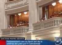 Parlamentarii care au chiulit marţi protestează