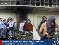 Venezuela. 8 studenţi împuşcaţi într-un campus universitar