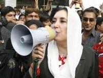 Tensiuni la o manifestaţie a jurnaliştilor din Pakistan