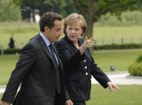 Berlin. Un tânăr a încercat să-i atace pe Merkel şi Sarkozy