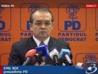 Boc: Cetăţenii vor fi bulversaţi pe 25 noiembrie