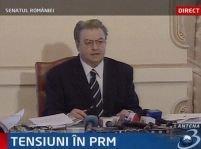 Vadim nu mai demisionează din Parlament