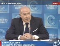 Dan Voiculescu rămâne preşedintele PC până în ianuarie 2008