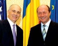 Nicholas Taubman l-a vizitat pe Traian Băsescu, după consultările de la Cotroceni