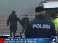 Liceu suedez evacuat după o ameninţare venită pe Internet