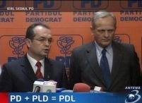 PD şi PLD formează un nou partid: Partidul Democrat Liberal