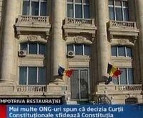 Societatea civilă: decizia C.C. privind CNSAS sfidează Constituţia