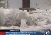 Furtunile de zăpadă au făcut ravagii în Marea Britanie şi SUA <font color=red>(VIDEO)</font>