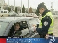 Kosovo. Măsuri sporite de securitate din cauza alegerilor prezidenţiale