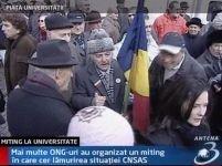 Miting de protest faţă de decizia Curţii Constituţionale privind CNSAS