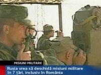 Misiune militară rusească în România