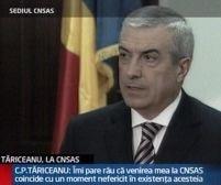 Tăriceanu: CNSAS funcţionează, dar nu mai dă verdicte de poliţie politică