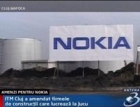 Amenzi pentru firmele de construcţii care ridică fabrica Nokia din Cluj