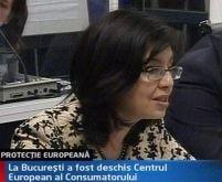 Meglena Kuneva a inaugurat Centrul European al Consumatorului din România