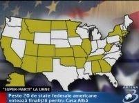 ?Super-marţi? în SUA. Alegeri preliminare pentru Casa Albă <font color=red>(VIDEO)</font>