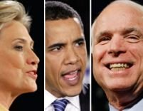 <font color=red>Cursă strânsă pentru Casa Albă.</font> Lupta Clinton-Obama continuă