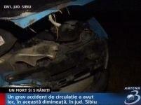 Grav accident de circulaţie în judeţul Sibiu