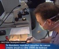 În România, cazurile de cancer cresc anual cu câte 2.000 de bolnavi