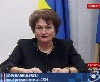 Lidia Bărbulescu: ?CSM ar trebui să aibă iniţiativă legislativă?