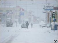 Grecia. Ninsorile masive au izolat cel puţin 150 de sate