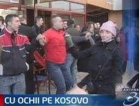 Sărbătoare în Kosovo. Independenţa i-a scos în stradă pe kosovari <font color=red>(VIDEO)</font>