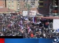 Studenţii din Belgrad protestează în centrul Capitalei