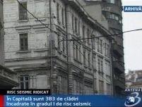 400 de clădiri din Bucureşti, în pericol de prăbuşire la un cutremur