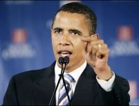 Hillary Clinton nu reuşeşte să-l oprească pe Obama în cursa spre Casa Albă