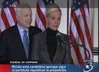 O relaţie extraconjugală îi ameninţă candidatura lui John McCain