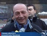 Covasna. Traian Băsescu s-a întâlnit cu reprezentanţii comunităţii româneşti