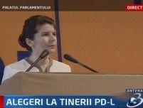 Monica Iacob Ridzi, noul preşedinte al Organizaţiei de Tineret a PD-L