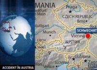 Accident grav în Austria. Opt români răniţi, dintre care doi în stare gravă