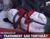 Arad. Copil ţinut în cămaşă de forţă la un centru de reabilitare