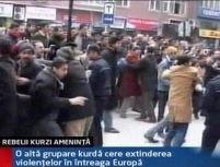Rebelii Kurzi ameninţă cu acte de violenţă în Turcia şi Europa