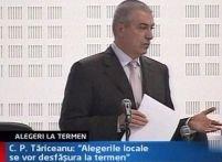 Tăriceanu: Alegerile locale se vor organiza la termen
