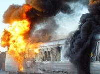 Bulgaria. 8 morţi şi 9 răniţi într-un incendiu feroviar