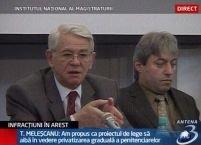 Meleşcanu: Penitenciarele pot veni cu orice propuneri pentru ameliorarea sistemului