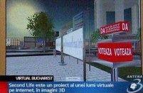 Bucureştiul intră în Second Life