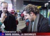 David Bisbal a ajuns în România. Artistul va concerta joi, la Sala Palatului