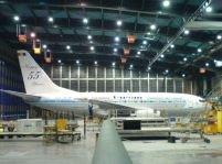 Aeronavă aniversară cu ocazia împlinirii a 55 de ani de la înfiinţarea TAROM (FOTO)