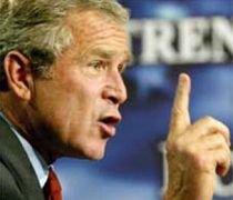 George W. Bush: Hamas este instigatorul violenţelor din Fâşia Gaza