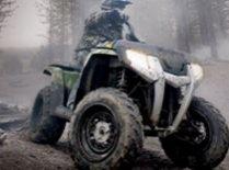 Alba. Doi turişti s-au răsturnat cu ATV-ul în prăpastie