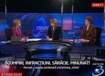Mariana Câmpeanu, la Ştirea Zilei: Vrem austeritate, sau până la urmă dăm câte ceva?