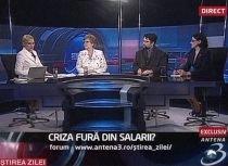 Ştirea Zilei: Criza fură din salarii?
