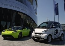 Daimler AG a achiziţionat 10 procente din compania Tesla Motors