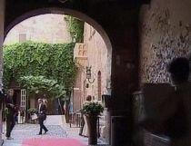 """Celebrul balcon din """"Romeo şi Julieta"""", deschis publicului pentru nunţi (VIDEO)"""