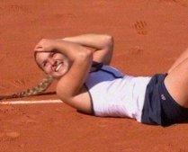David a dat de zgură cu Goliat, la Roland Garros: Cibulkova ? Sharapova 6-0, 6-2